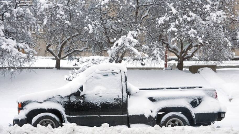 winter car damage